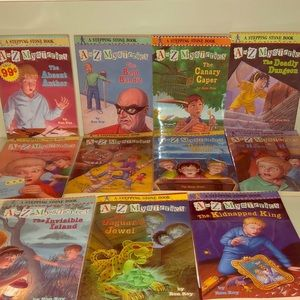 A to Z Mysteries  Books 📚
